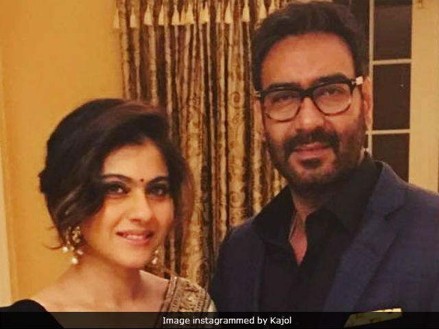 Ajay Devgn And Kajol Had This Adorable Twitter Exchange About Lunch