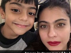 Kajol Has A Special Birthday Wish For Her 'Milk Moustache' Son Yug