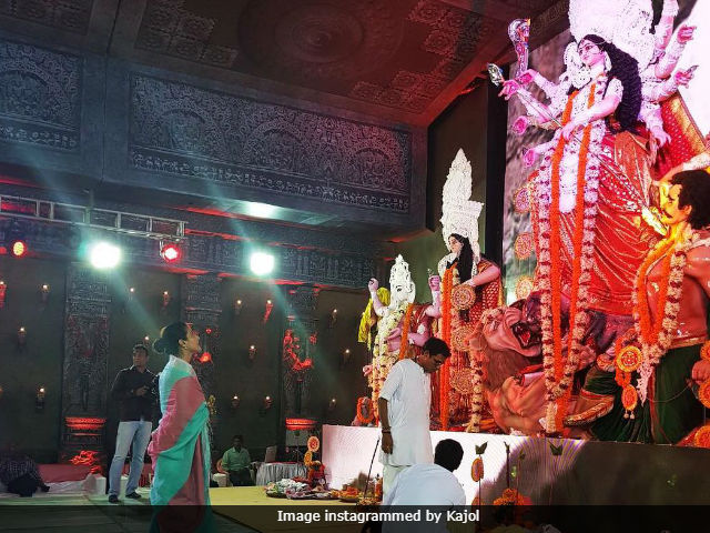 Durga Puja 2017: Kajol Shares Pic Of Durga 'In All Her Glory'