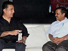A Superstar As Aam Aadmi: When Kamal Haasan Met Arvind Kejriwal