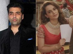Karan Johar's 'Dear Talent' Tweet A Reaction To Kangana Ranaut's Song, Thinks Twitter