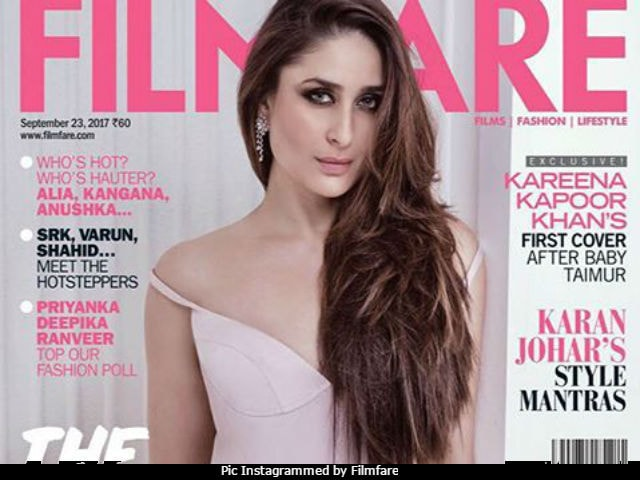 Kareena Kapoor Khan Covers September In Candy Pink. Her First Since Taimur's Birth