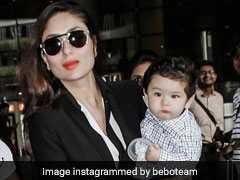 दिल्ली जाने पर रो रहे थे तैमूर अली खान, मम्मी करीना कपूर के साथ वापस लौटे तो बदले अंदाज