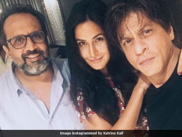 Shah Rukh Khan Updates Us About Aanand L Rai's Film