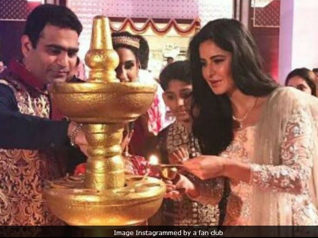 Navratri 2017: Katrina Kaif Joins Festivities In Kerala