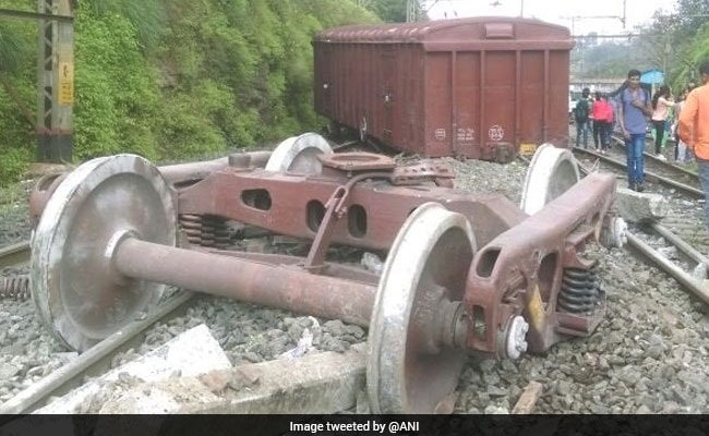 Goods Train Derails In Khandala; 3rd Train Accident In A Day