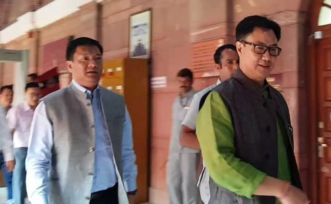 'Congress Mistake,' Says Kiren Rijiju, Chakma Refugees To Become Citizens