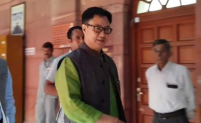 Centre To Urge Supreme Court To Modify Order On Chakma-Hajong Refugees: Kiren Rijiju