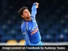 India vs New Zealand: Kuldeep Yadav Bowls With Wet Ball At Nets To Counter Dew