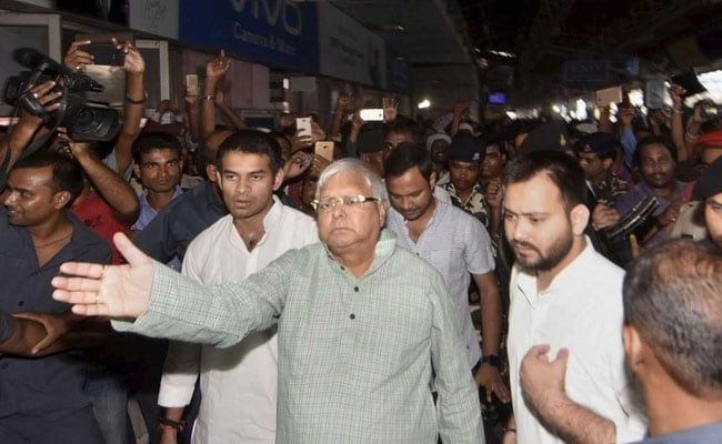 Trader Files Defamation Case Against Lalu Prasad, Son In Srijan Scam