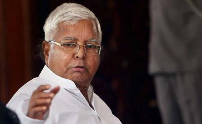 Lalu Yadav Elected RJD President Unopposed For 10th Time