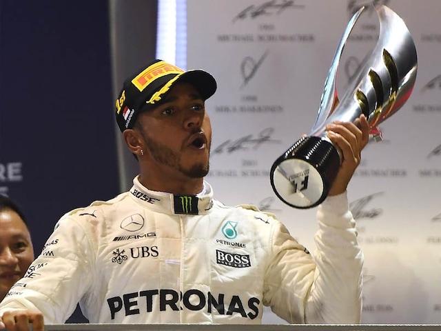 Lewis Hamilton Wins Singapore Grand Prix Ahead Of Red Bulls Daniel Ricciardo