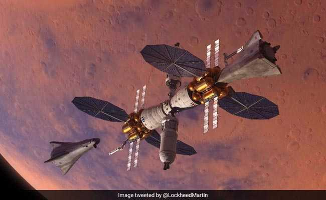 Lockheed Martin unveils reusable water-powered new technology for Mars lander