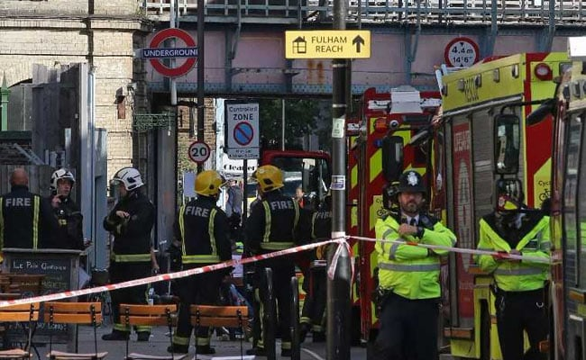 'Fireball' On London Tube A Terror Attack, Homemade Bomb Used