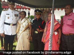 Her Husband Died Fighting Terrorists In Kashmir. Now She Joins The Army