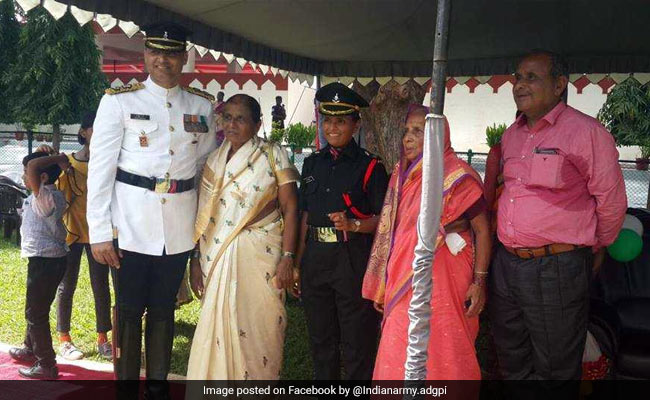 Swati Mahadik, A Martyr's Wife, Joins The Indian Army As Lieutenant""