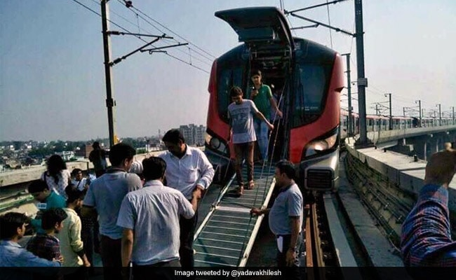 Lucknow Metro Develops Technical Default On Day One, Hundreds Stuck Inside