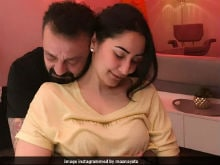 This Pic Of Sanjay Dutt With Wife Maanyata Is Just Too Aww-Dorable