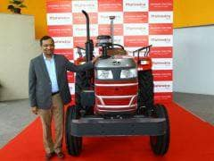 Mahindra Showcases First-Ever Driverless Tractors