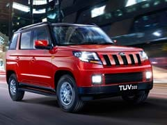 Mahindra TUV300's Range-Topping T10 Variant Is Priced At Rs. 9.75 Lakh