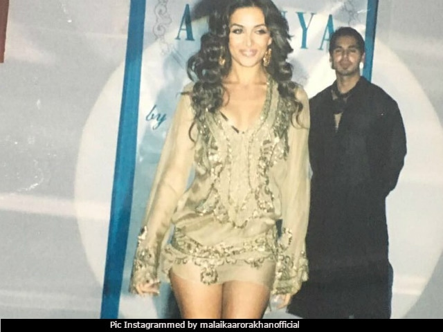 It's Not Just Malaika Arora In Her Throwback Pic. Look Closely