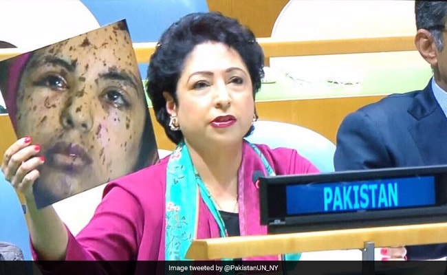ndtv.com - At UN, Pak Envoy Tries To Pass Off Gaza Teen As Kashmir Girl