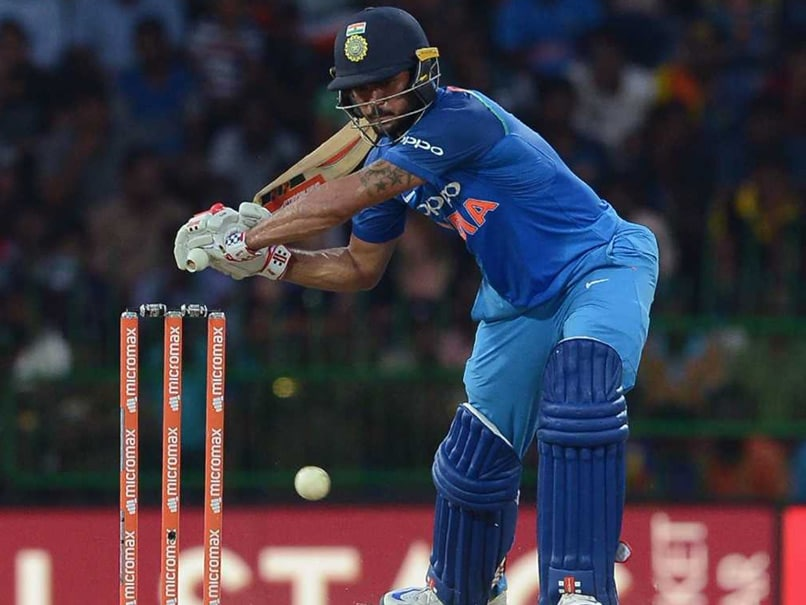 Looking to Cement my Place One Spot at a Time: Manish Pandey