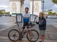 Cyclist Sets Guinness World Record For Fastest Round-The-World Trip