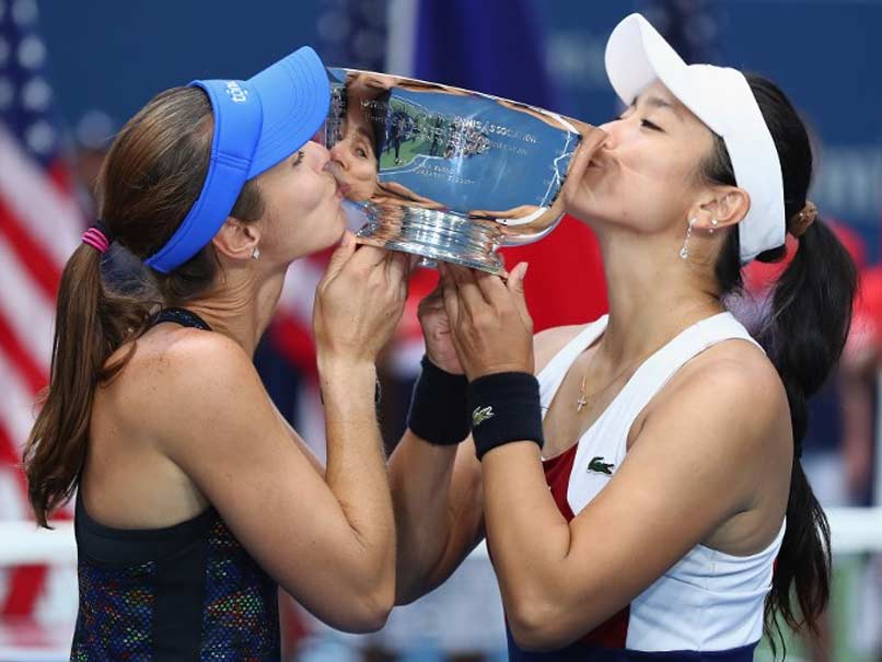 US Open: Martina Hingis, Chan Yung-Jan Capture Womens Doubles Crown