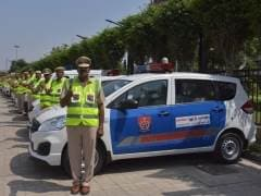 Maruti Suzuki India Presents 35 Ertiga And Eeco Vehicles To Haryana Police