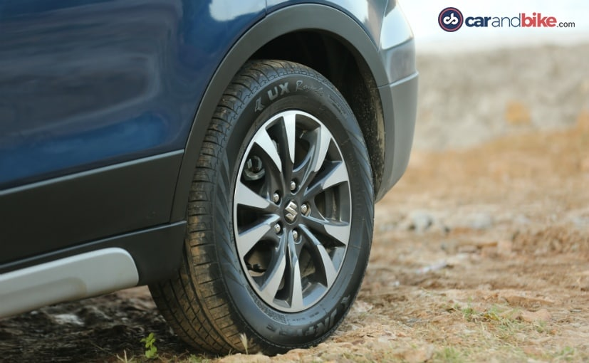 maruti suzuki s cross facelift alloy wheels