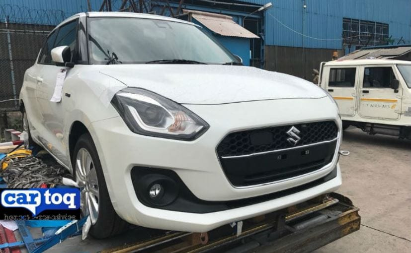 2018 Maruti Suzuki Swift Hybrid Spotted In India For The