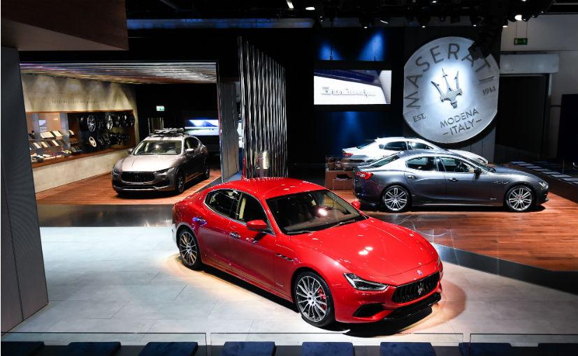 Maserati showcases its updated product portfolio at the 2017 Frankfurt Motor Show