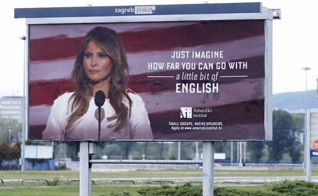 They Said Melania Trump Was Face Of Success. She Made Them Take Down Billboards With Her Face.