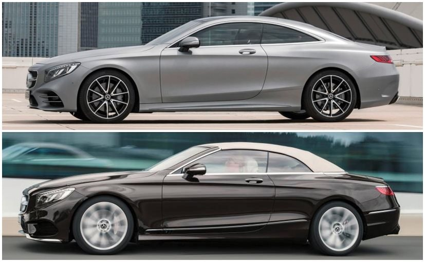Mercedes benz reveals the 2018 s class coupe and cabriolet for Mercedes benz s class coupe price