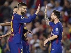 Lionel Messi Inspires Barcelona, PSG Win Champions League Opener
