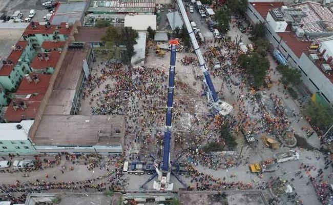 मेक्सिको में 7.1 तीव्रता के भूंकप में मरने वालों की संख्या 273 हुई