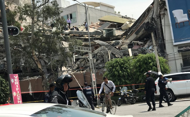 More Than 138 Killed After 7.1 Magnitude Earthquake In Mexico