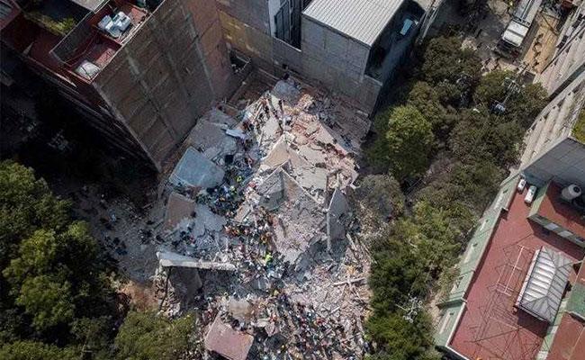 मेक्सिको में भूकंप से मरने वालों की संख्या 292 हुई