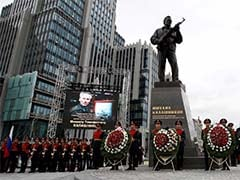 Russia Unveils Monument To Designer Of Iconic AK-47 Rifle