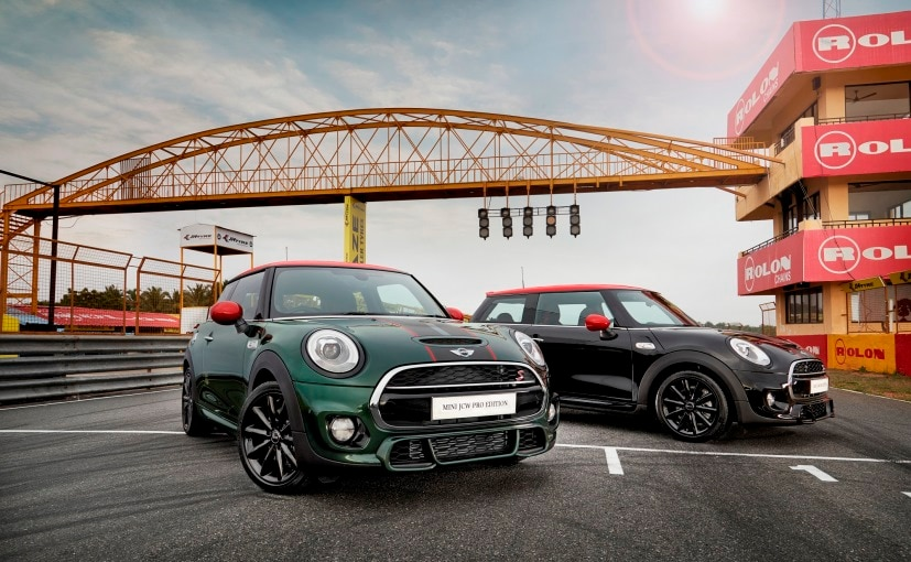 Mini Jcw Pro Edition Launched In India Priced At Rs 4390 Lakh
