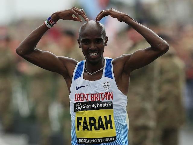 Record Breaker Mo Farah Wins Fourth Successive Great North Run