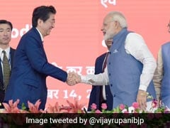 Hope To Ride Bullet Train With PM Modi At My Side, Says Abe
