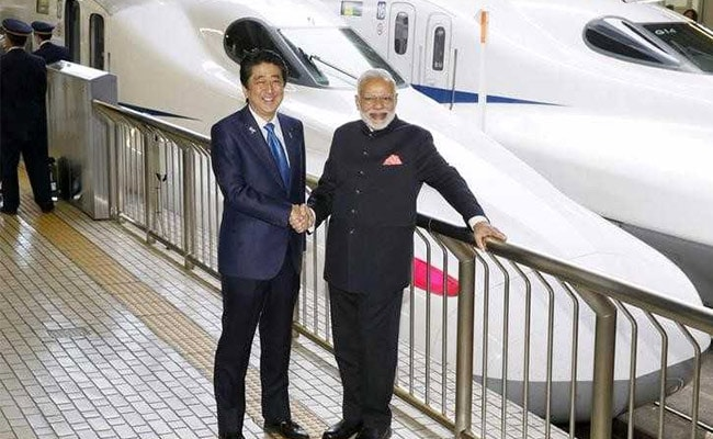 modi abe bullet train reuters file 650