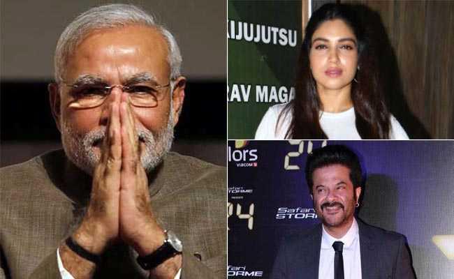 अनिल कपूर से भूमि पेडनेकर तक, स्टार्स बोले- Happy Birthday Narendra Modi