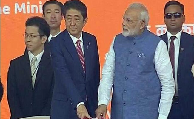 Shinzo Abe In Gujarat LIVE: After Bullet Train Foundation, PM Narendra Modi, Japanese PM Sign Agreements