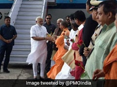 PM Modi In Varanasi LIVE Updates: Infrastructural Projects Launched, Mahamana Express From Varanasi-Vadodra Flagged Off