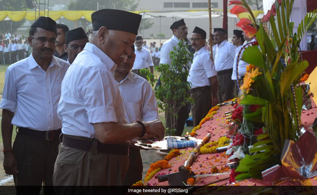 Saving Cow Beyond Religion, Gau Rakshaks Shouldn't Fear Anyone: RSS Chief Mohan Bhagwat