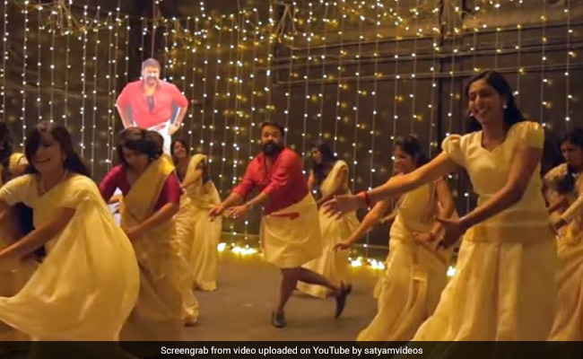 Watch: Mohanlal Takes 'Jimikki Kammal' Dance Challenge. Over 4.5 Million Views