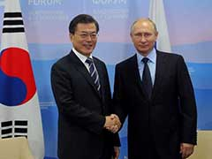 South Korea's Moon Jae-in Discusses North Korea Crisis With Vladimir Putin